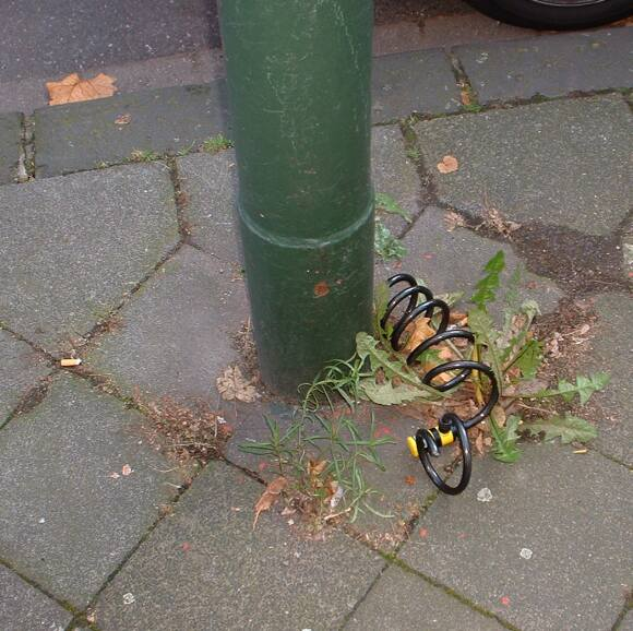 Fahrrad Rest Oberachern